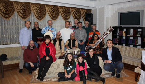 Das Ensemble Prustaar besucht den ikult e.V. am 06.12.2013